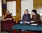 Meeting with His Holiness the 14th Dalai Lama in Dharamsala